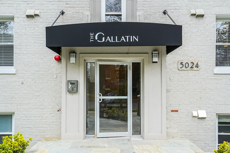 Unit 201 is available at the new Gallatin condominiums at 5024 9th Street NW.