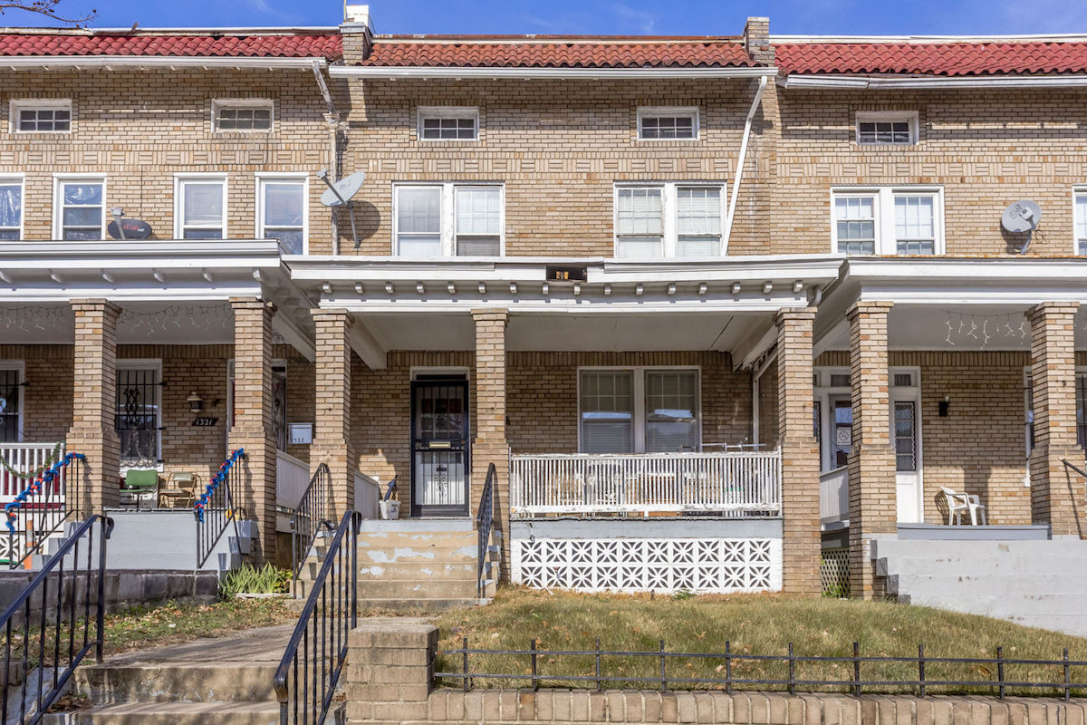1319 Randolph Street NW is a massive house that needs some love to be an amazing home again.