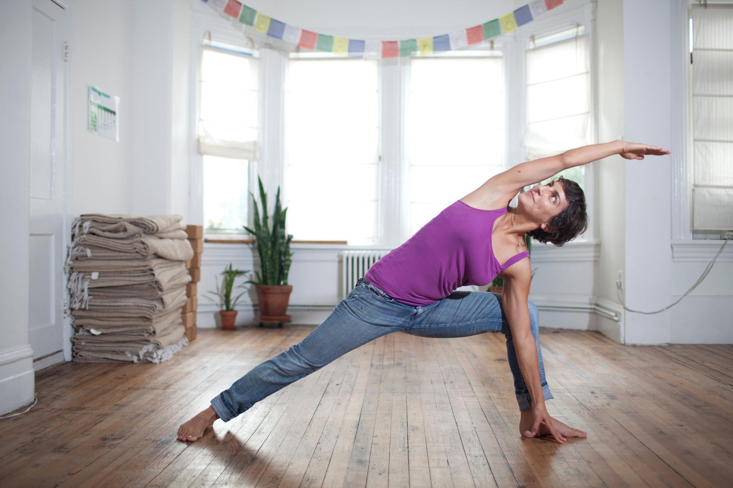 Yoga District founder Jasmine Chehrazi