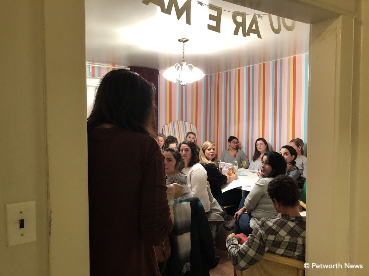 A class upstairs at the Lemon Collective.