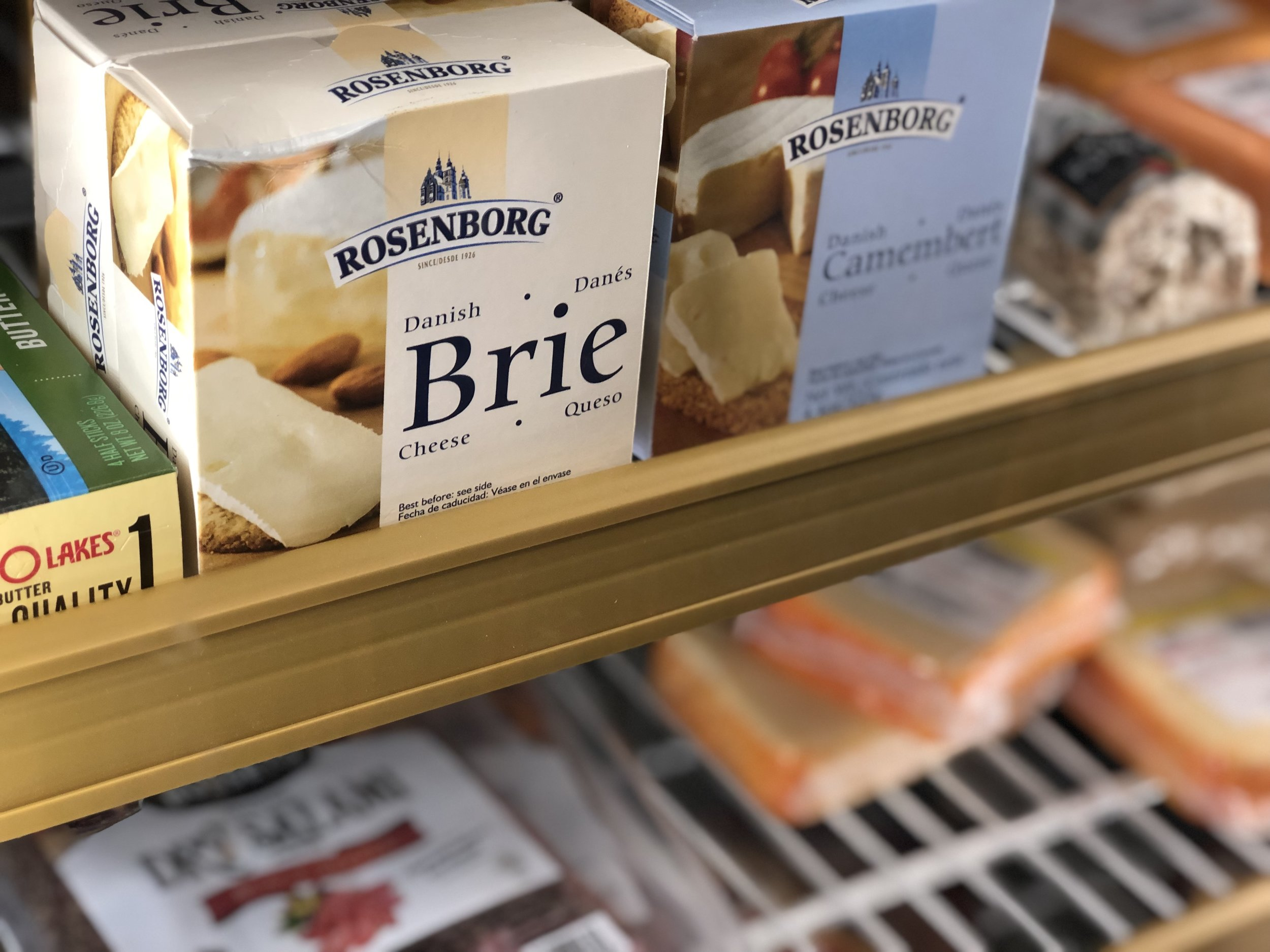 Cheddar may make it better, but Brie ups your cheese game.