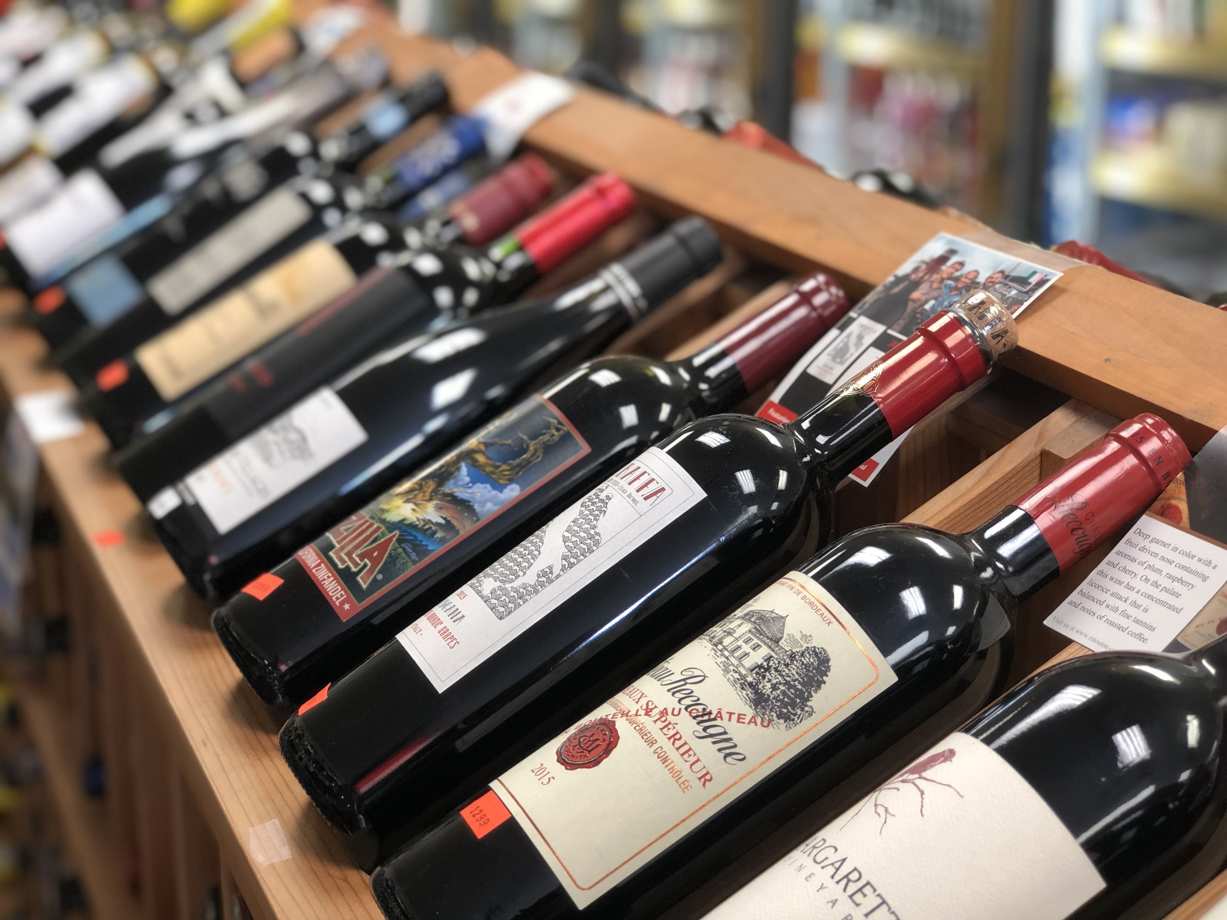 They have some really awesome wines from all around the world.