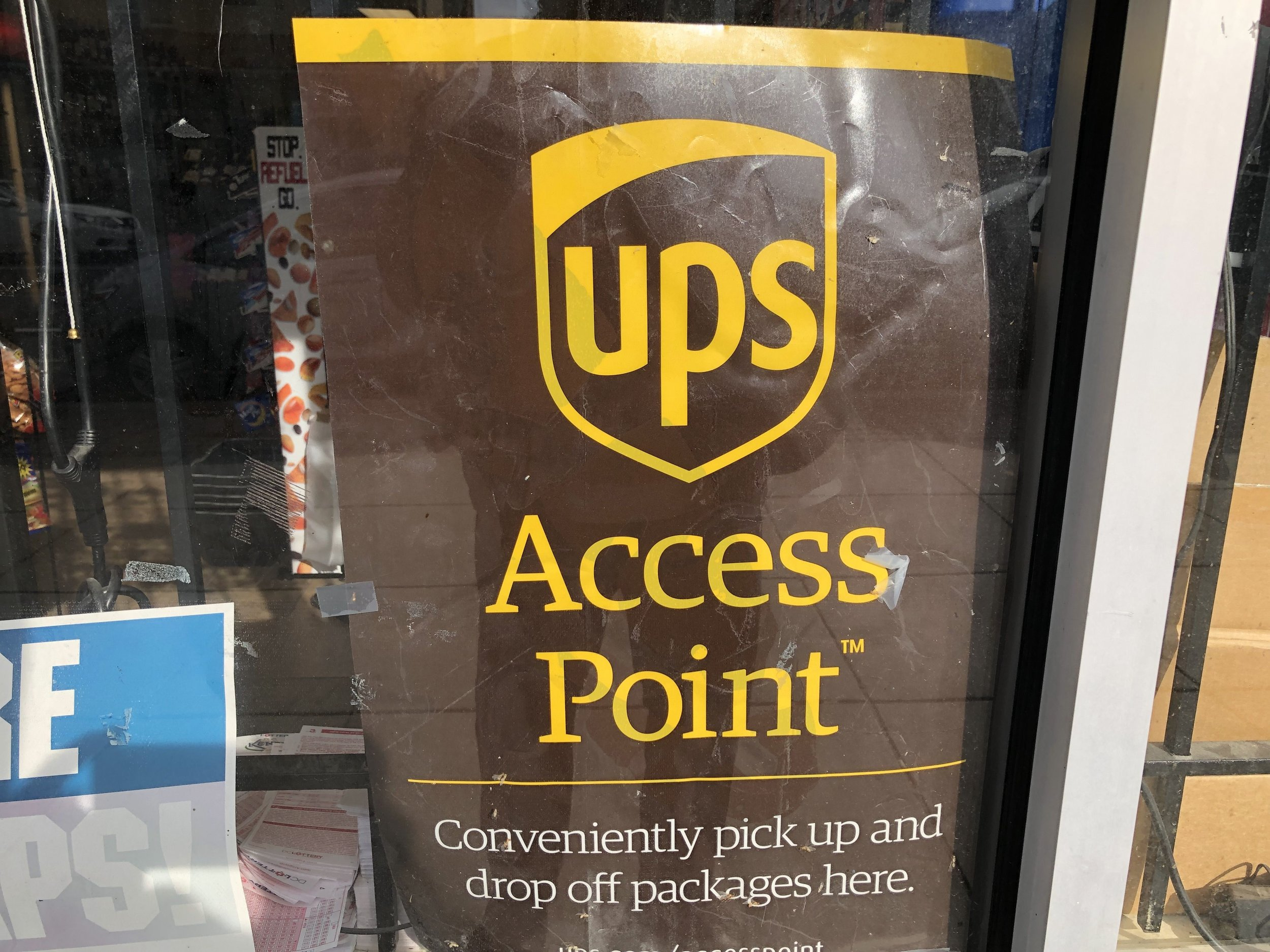 Did you know you could get packages delivered to the convenience store?