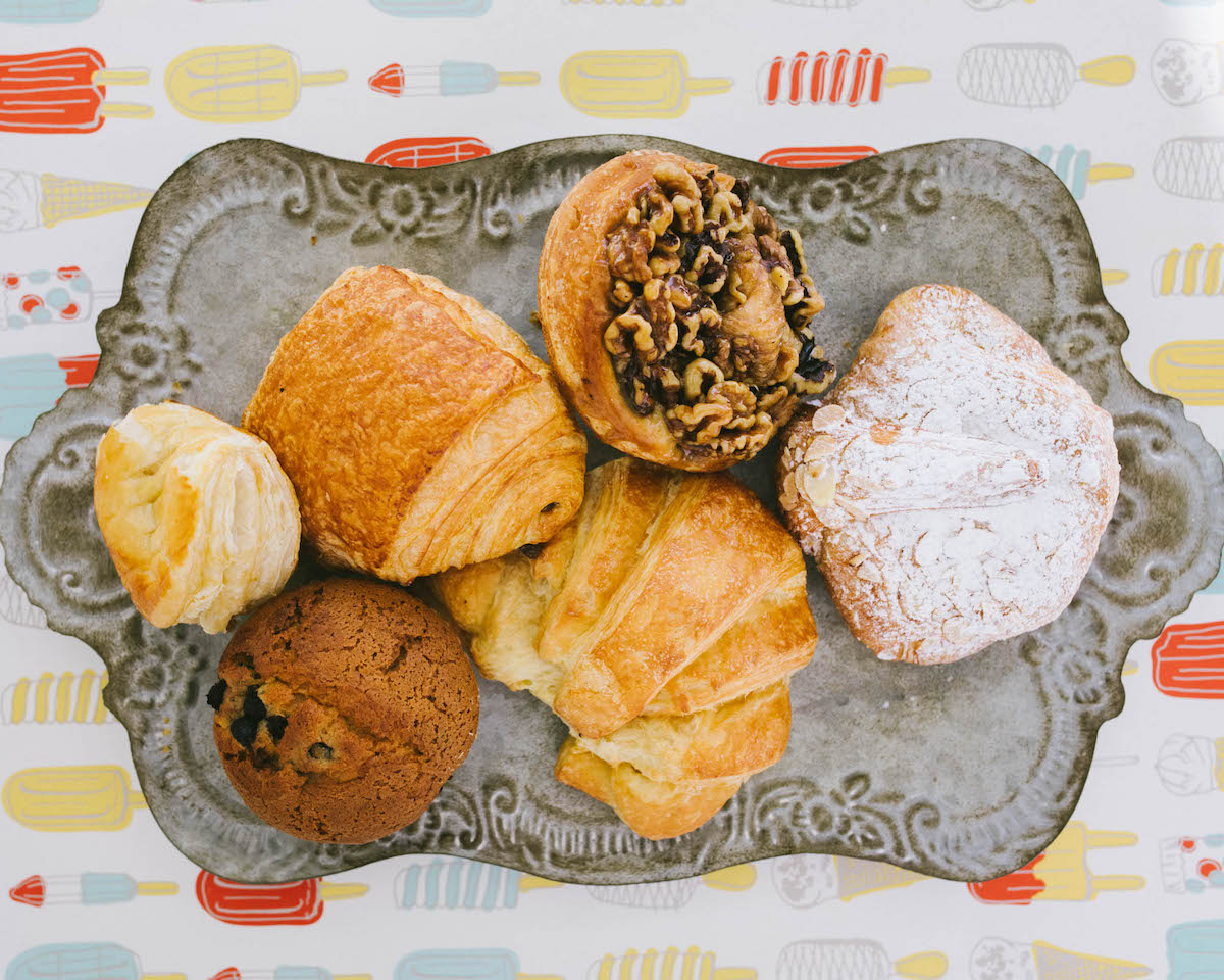 You can still pick up an assortment of delicious pastries. (photo: Lulabelle's)