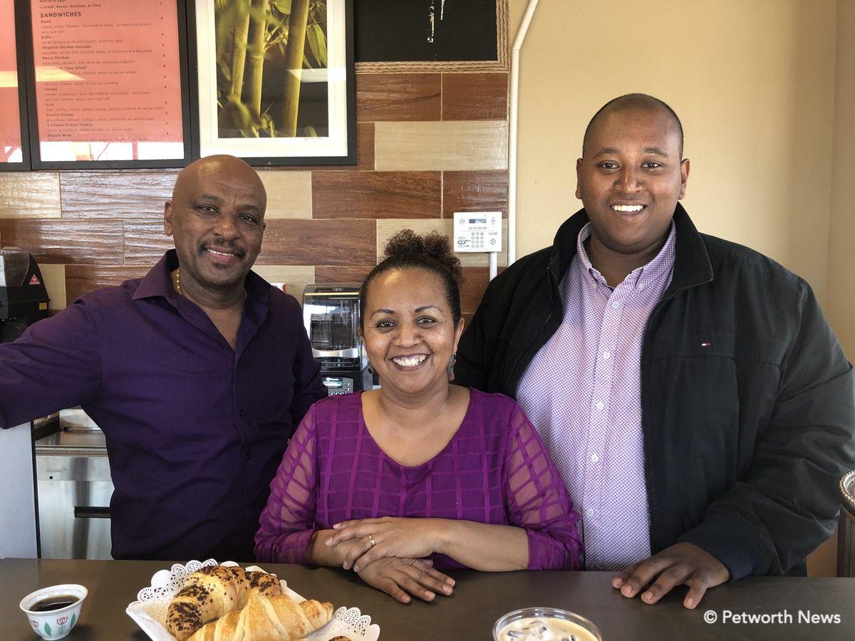 Mastewal Worku, Senaite Abebaw and Philemon Mastewal.