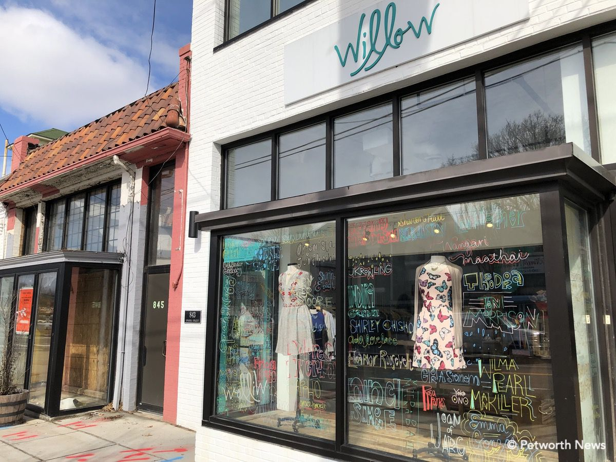 Willow Fashion at 843 Upshur Street NW