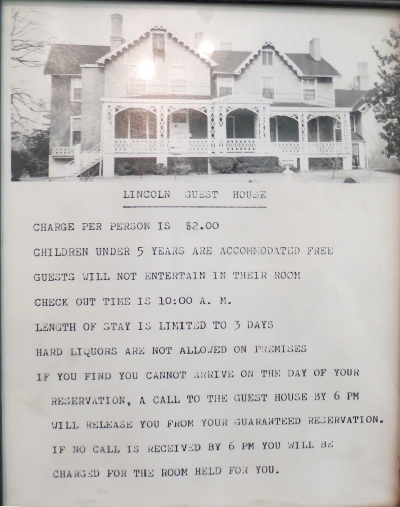 Only $2 to stay at the Cottage in the 1970s!