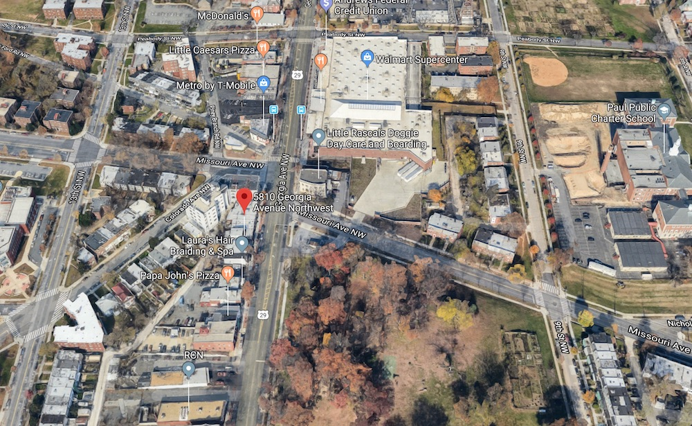 Google maps satellite view (photo: Google maps)