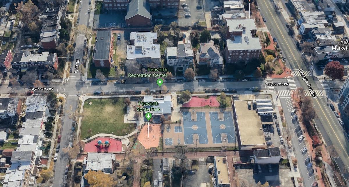 The 800 block of Taylor Street (Google Maps)