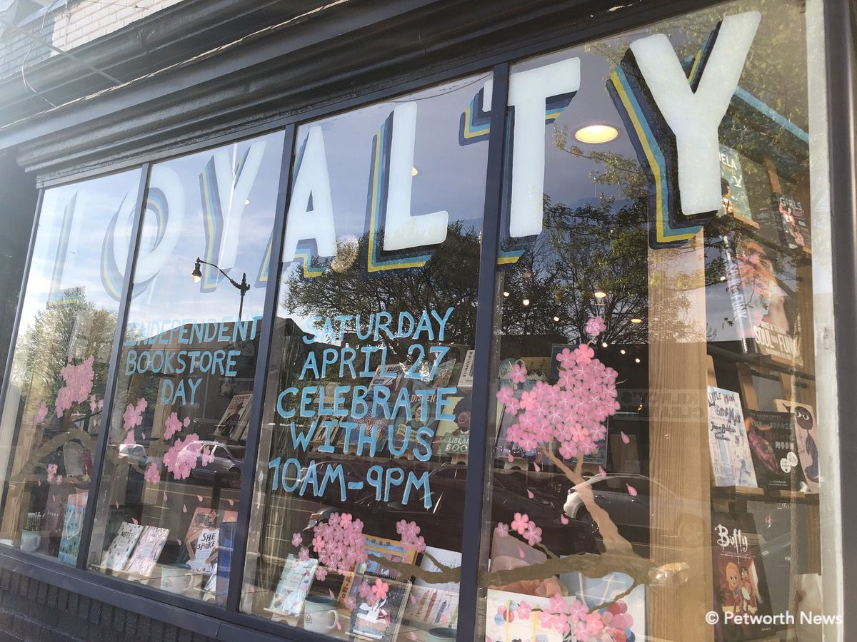 Loyalty Bookstore at 827 Upshur St is participating in the day's activities and discounts