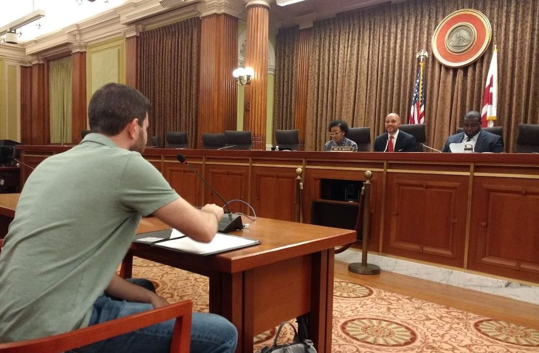 Local residents testified in front of the DC Council to get funding approved for the 2020 budget.