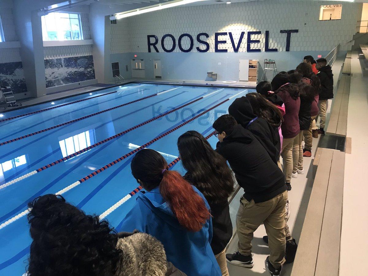 Roosevelt pool (courtesy DCPS / Twitter)