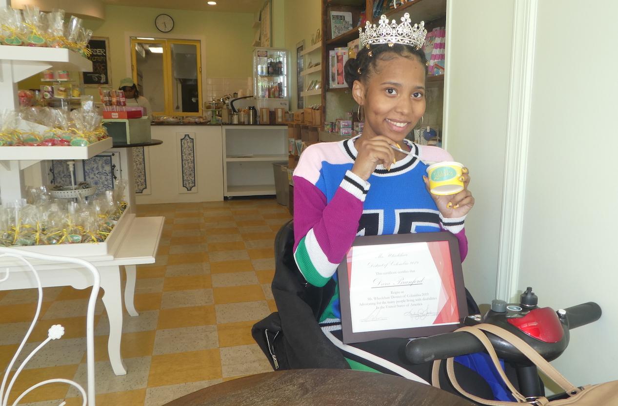 Dara Branford at Lulabelle's Sweet Shop (photo: Dara Branford)