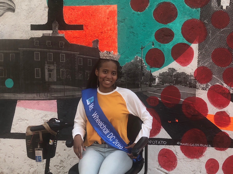 Petworth's Dara Branford, Miss Wheelchair DC 2019
