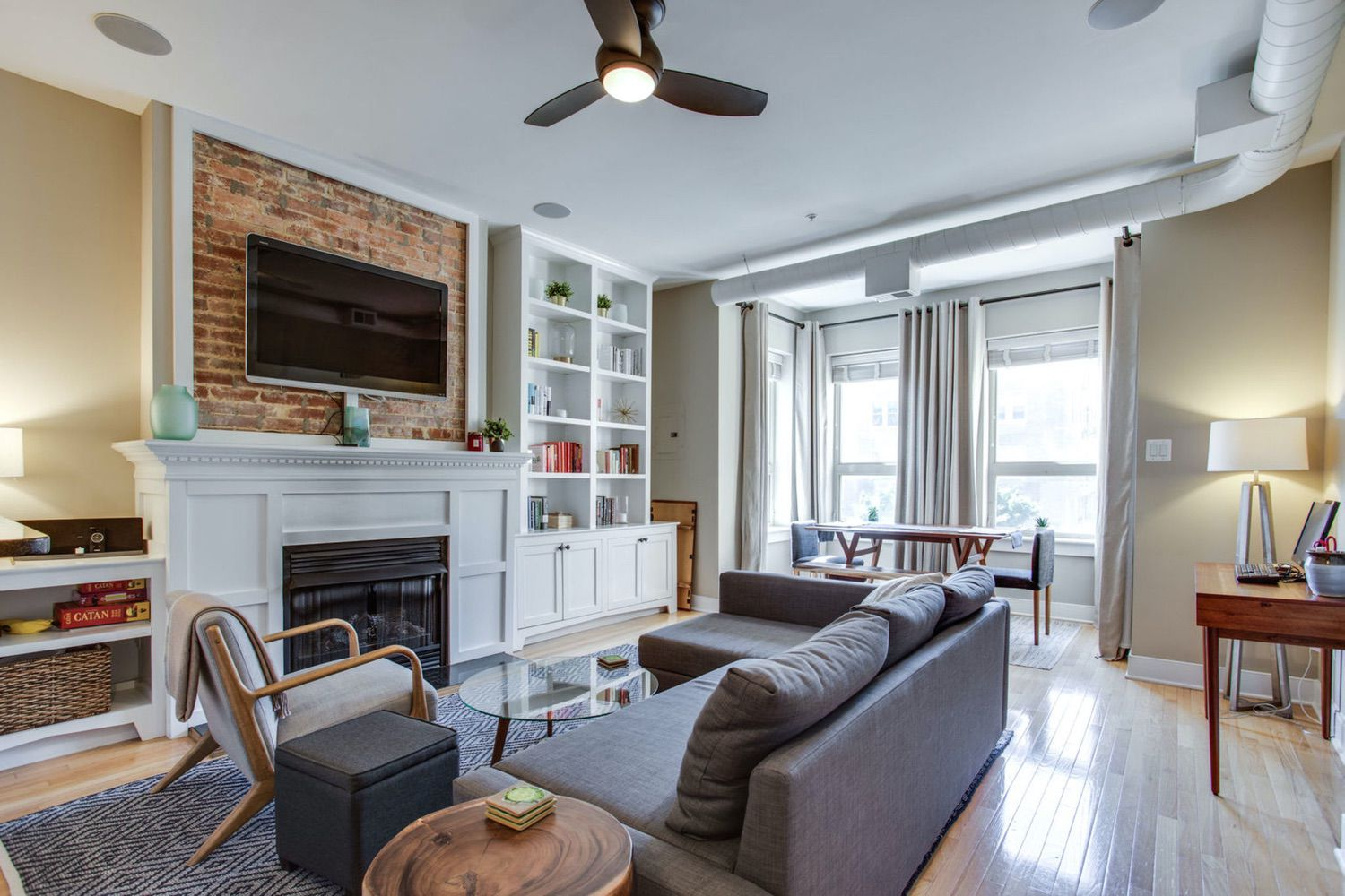 1305 Clifton Street NW, unit 3 offers charm and modern conveniences!