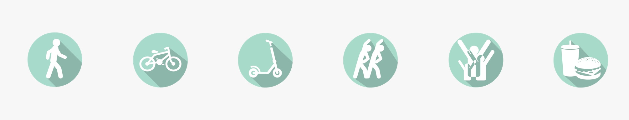 A section of the  DDOT website  encourages participants to walk, ride, exercise and shop along Georgia Avenue.