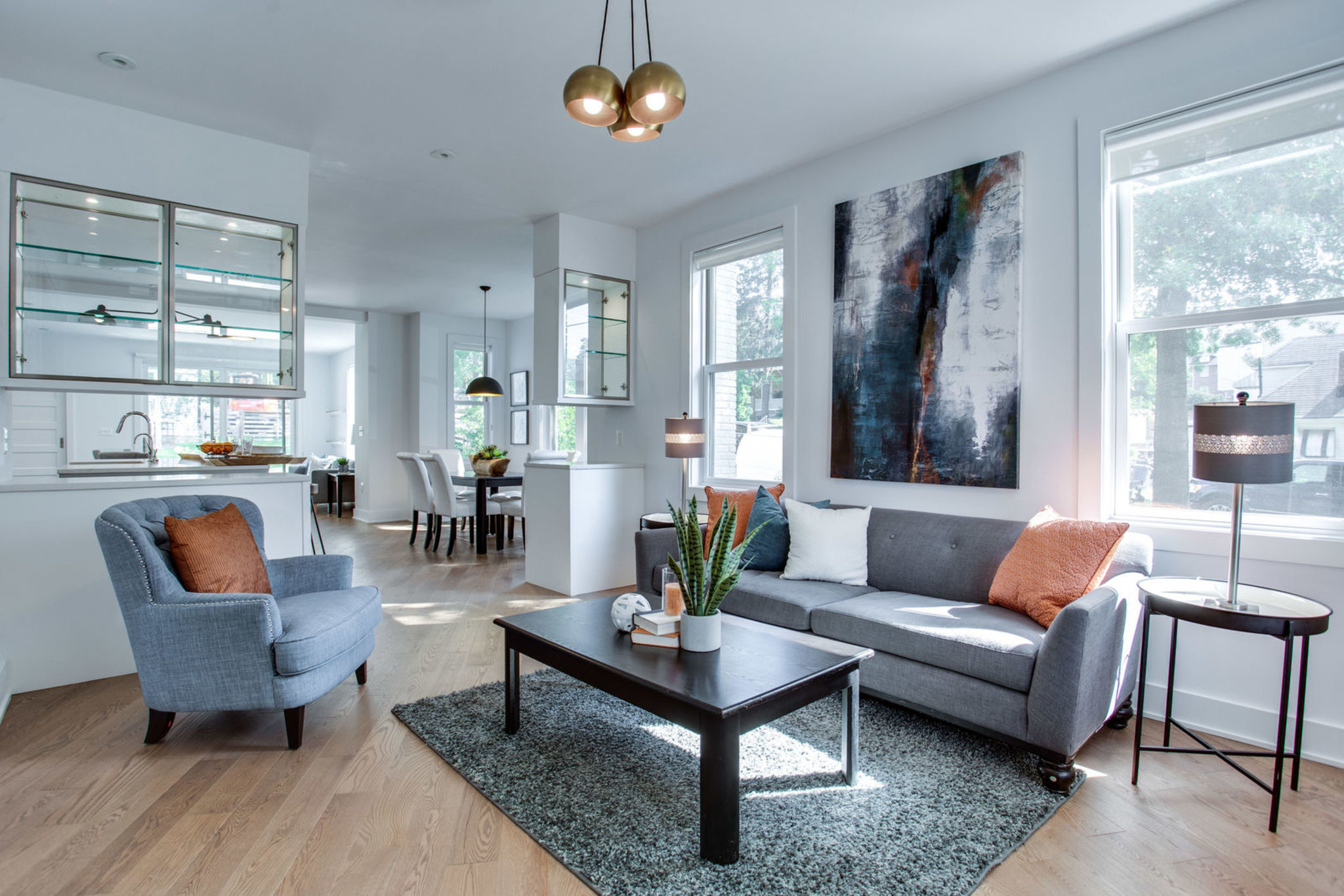 An amazing and fully renovated rowhouse at 301 Webster Street NW
