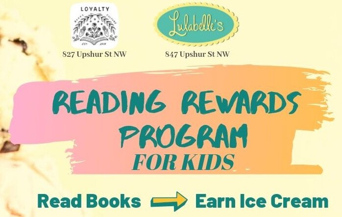 Loyalty Bookstore and Lulabelle's are offering kids a sweet reward.