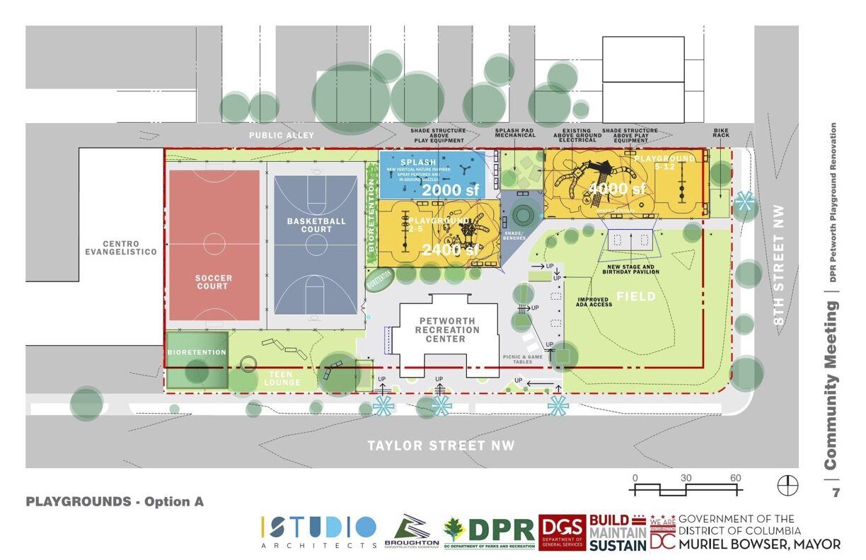 The proposed layout of the entire complex. (Courtesy DPR)