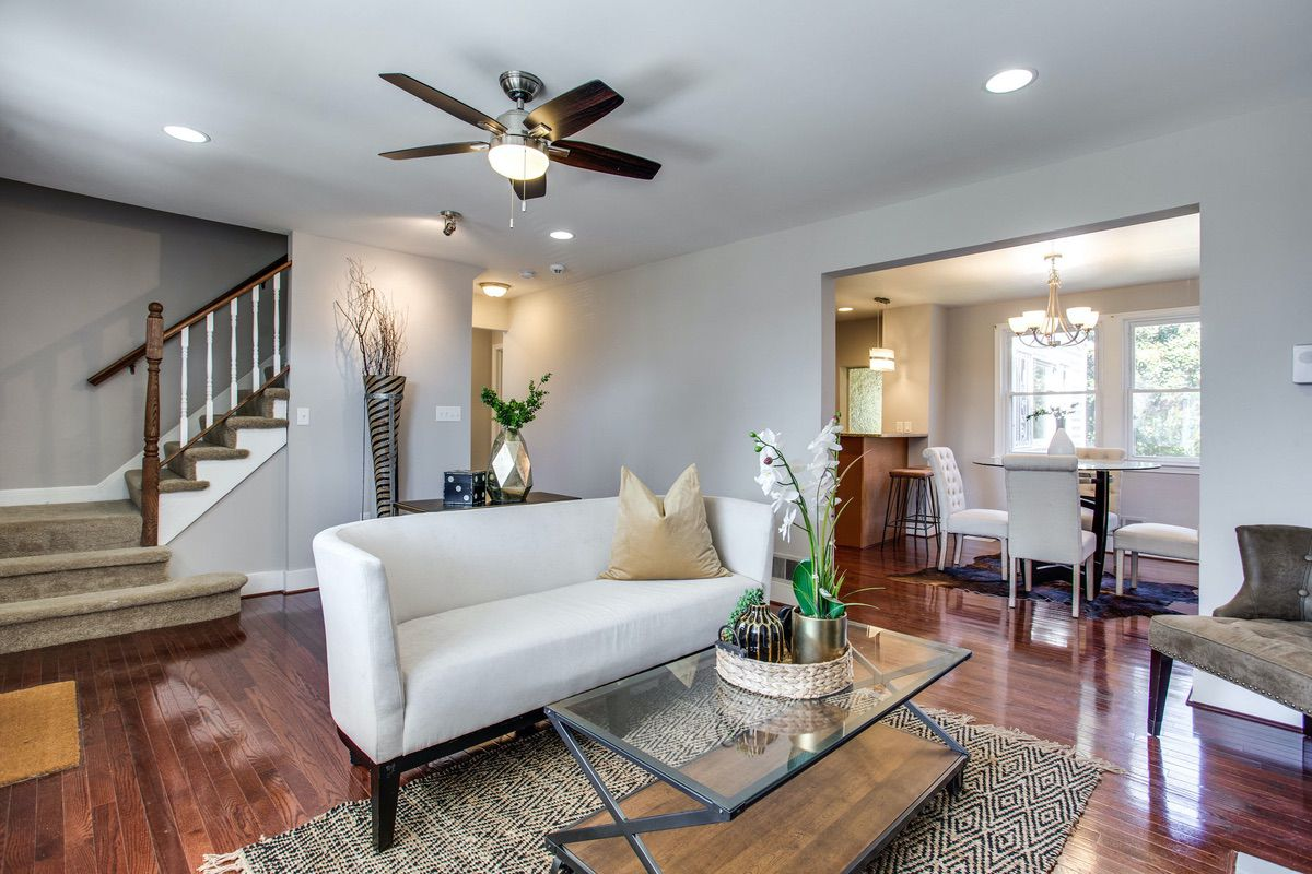 This Peabody Street home in Takoma Park offers a ton of space and great amenities.