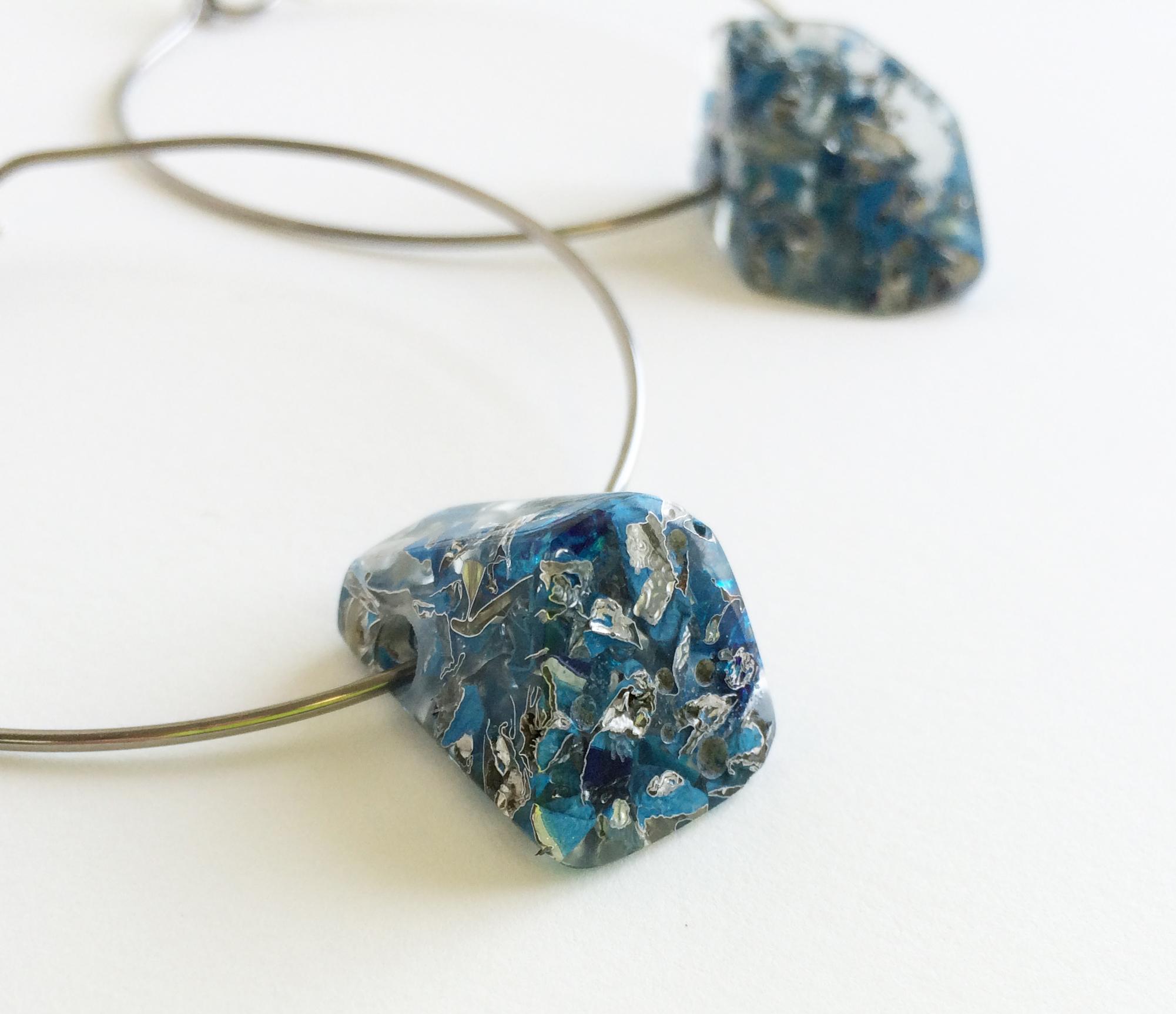 P-Lume Earrings (detail)