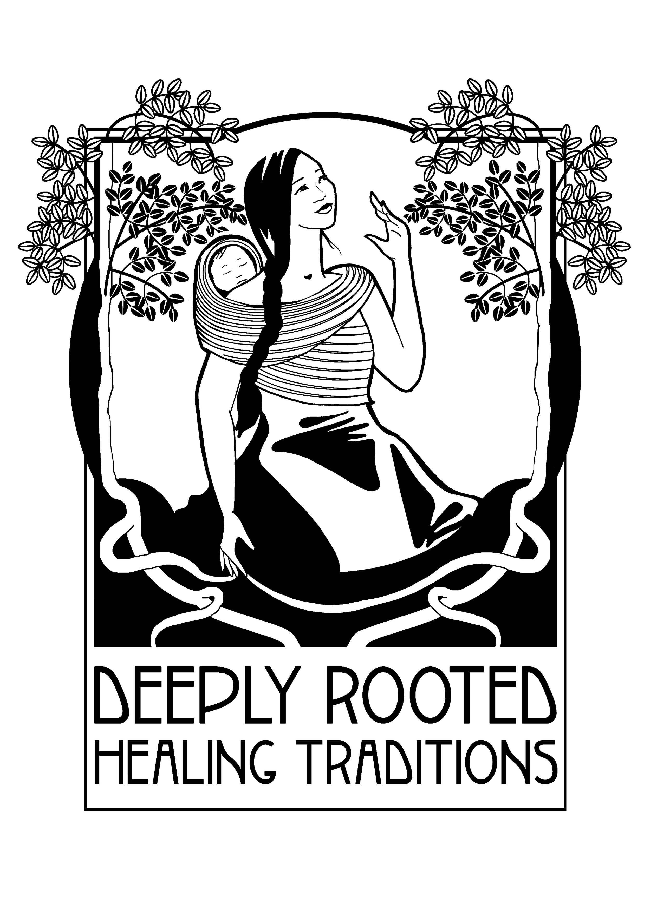 Deeply Rooted - Logo