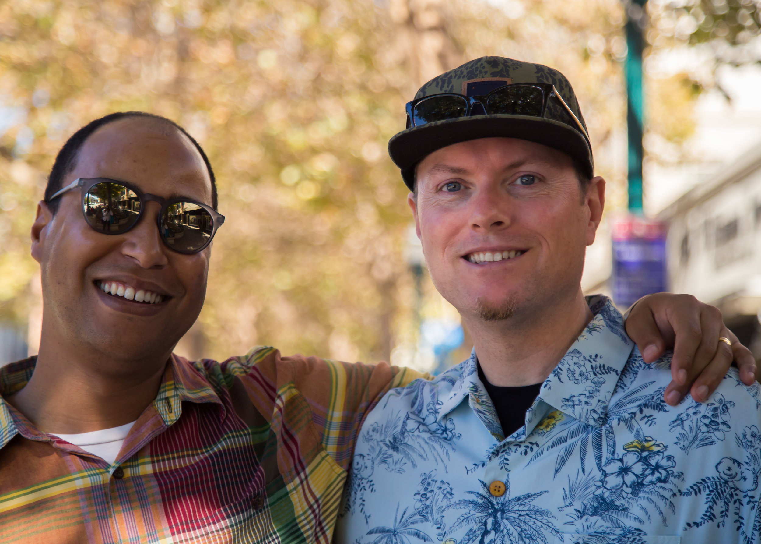 Tremain and his husband Daniel have been together over 16 years.
