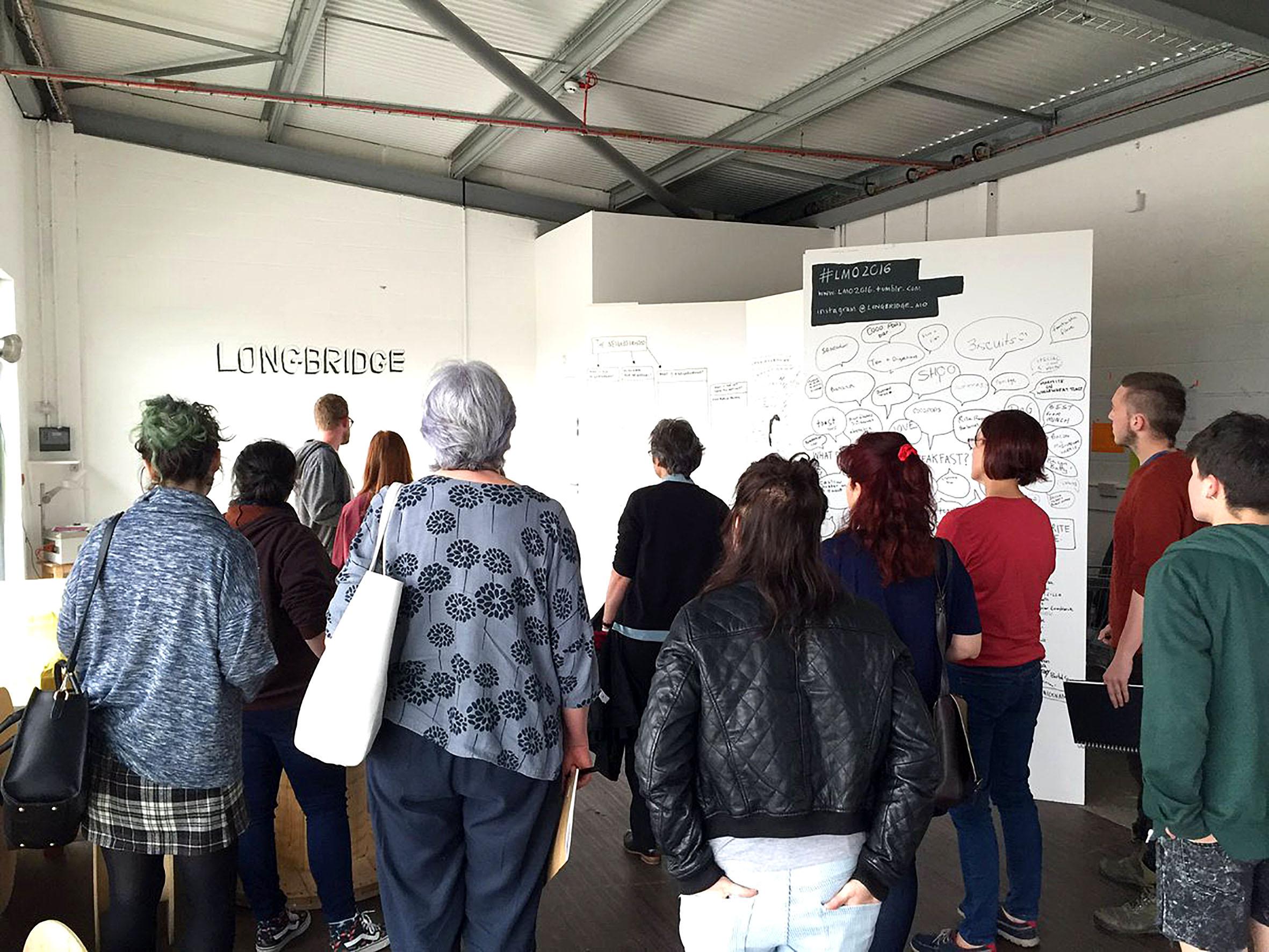 Longbridge Public Art Project talk by Matt Andrews