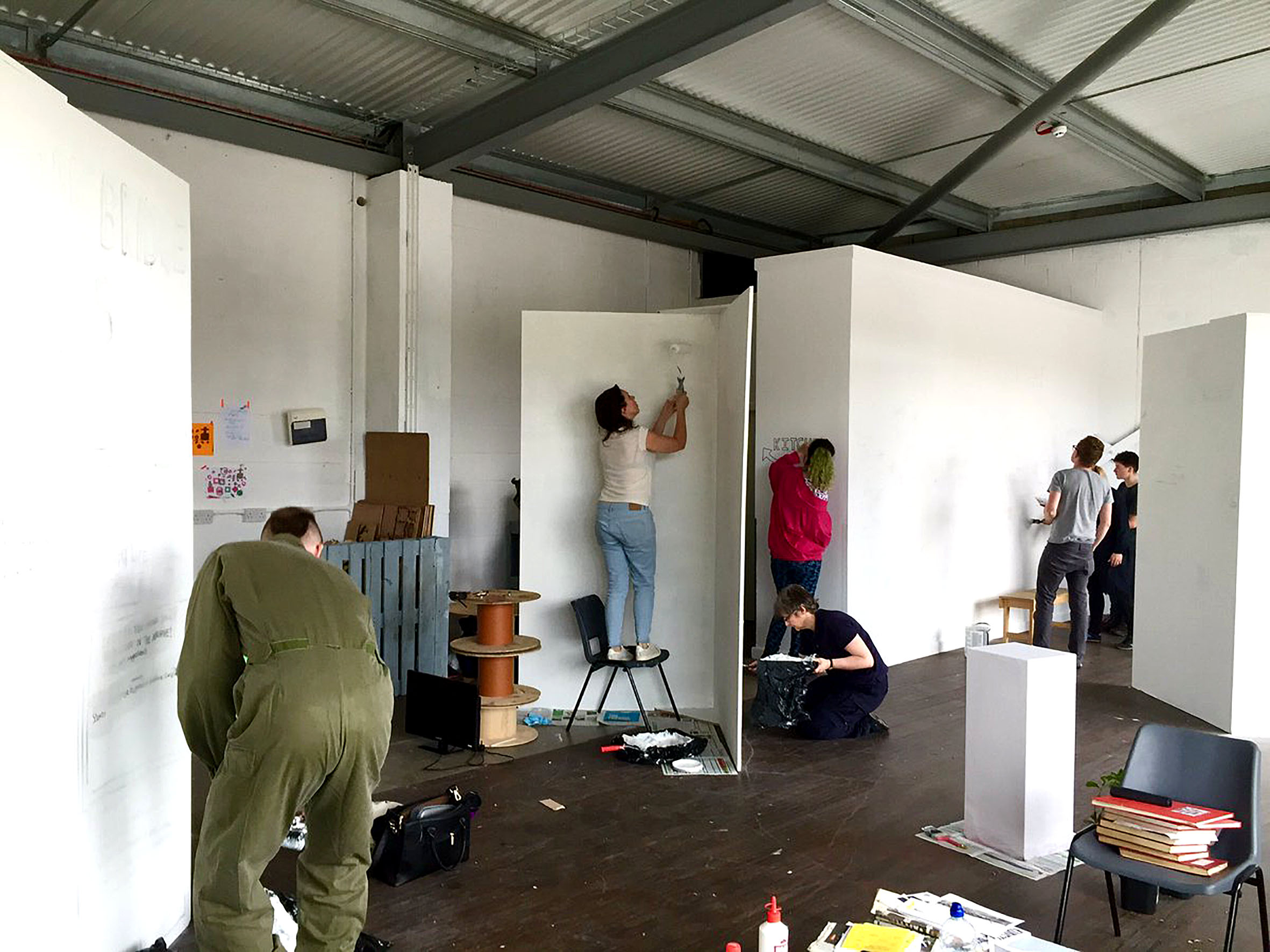Transforming the LPAP | SPACE for a new exhibition