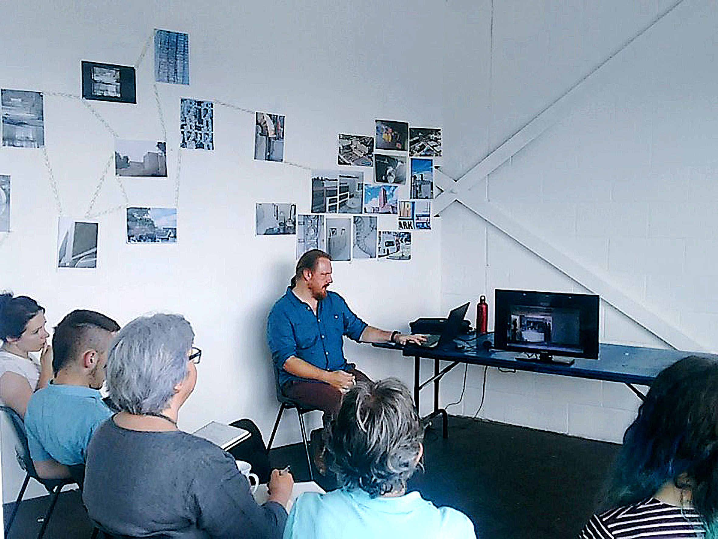 Artist talk by Redhawk Logistica