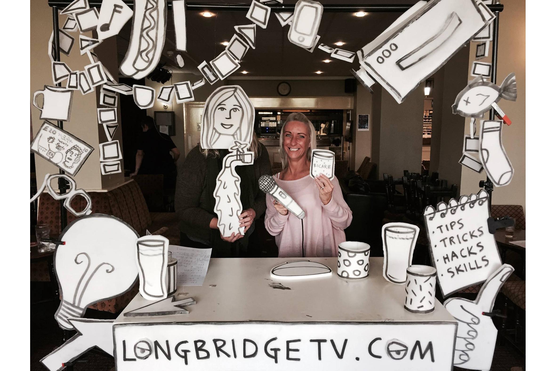 Longbridge TV workshop at Greenlands Select Social Club