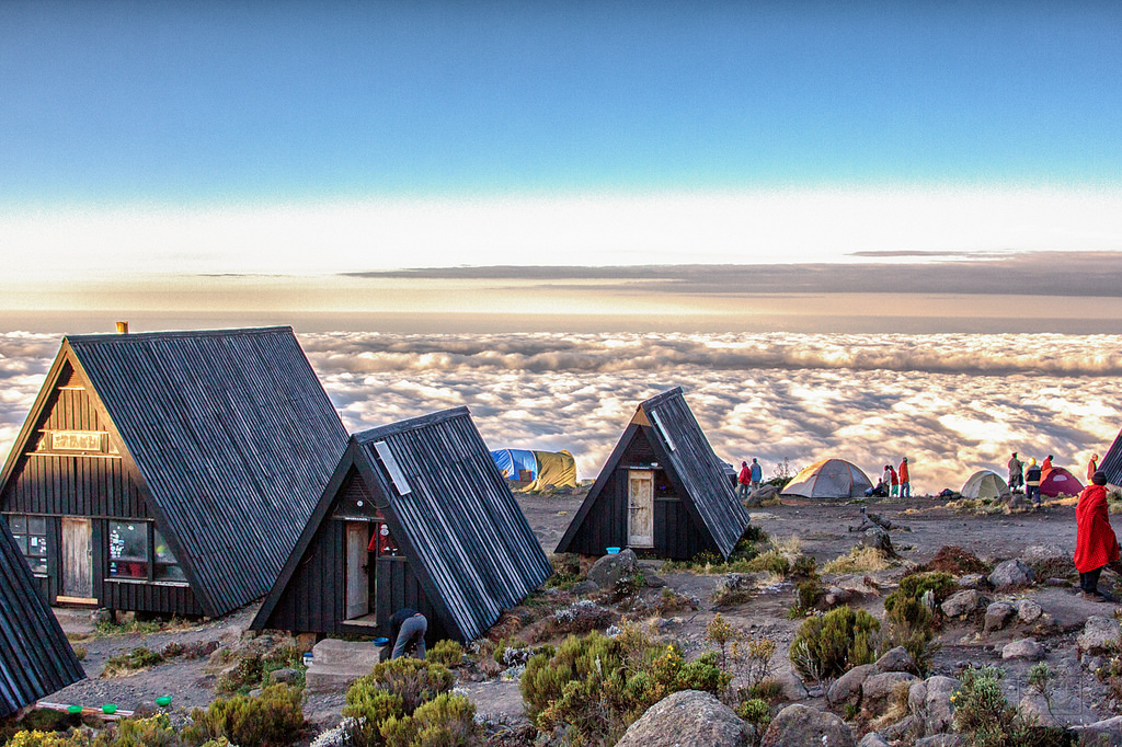 The view from Horombo Hut. Photo credit:  Thorsten Hansen