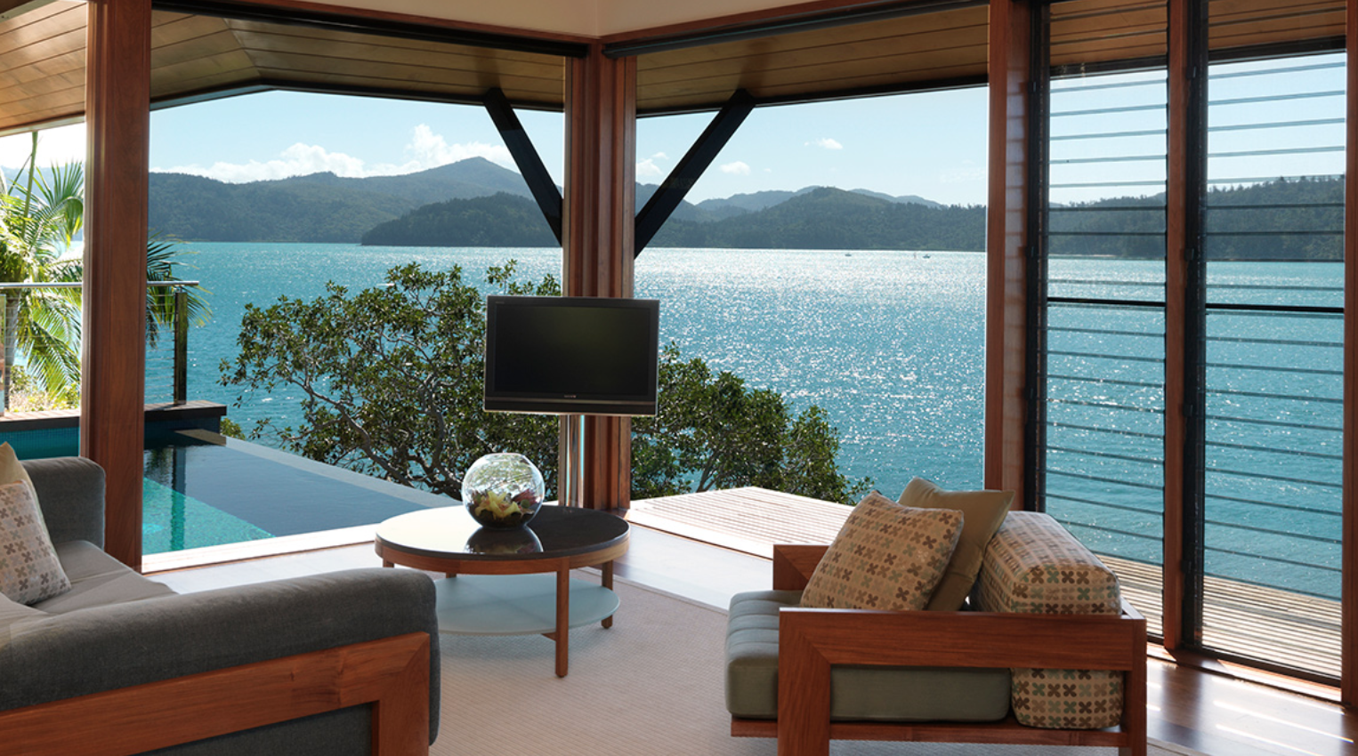 resort suite private island australia