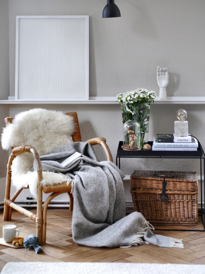 Hygge, please - At the end of the day, what we all love the most is relaxing in our own sanctuaries and sharing a cup of hot coffee with friends.To create an atmosphere of intimacy and coziness, we like to use comfy cushions, natural rugs, chunky-knit blankets, soft furniture covers, candles and warm lighting. By using a variety of textiles and textures and combining it with mood setters like scent and light, you can add depth and style to your space.