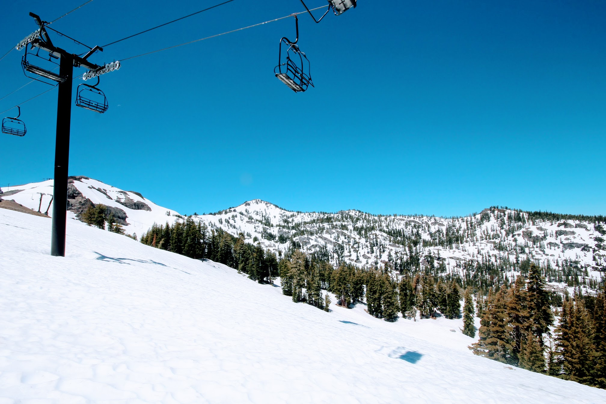 Year-round skiing and snowshoeing in Squaw Valley.