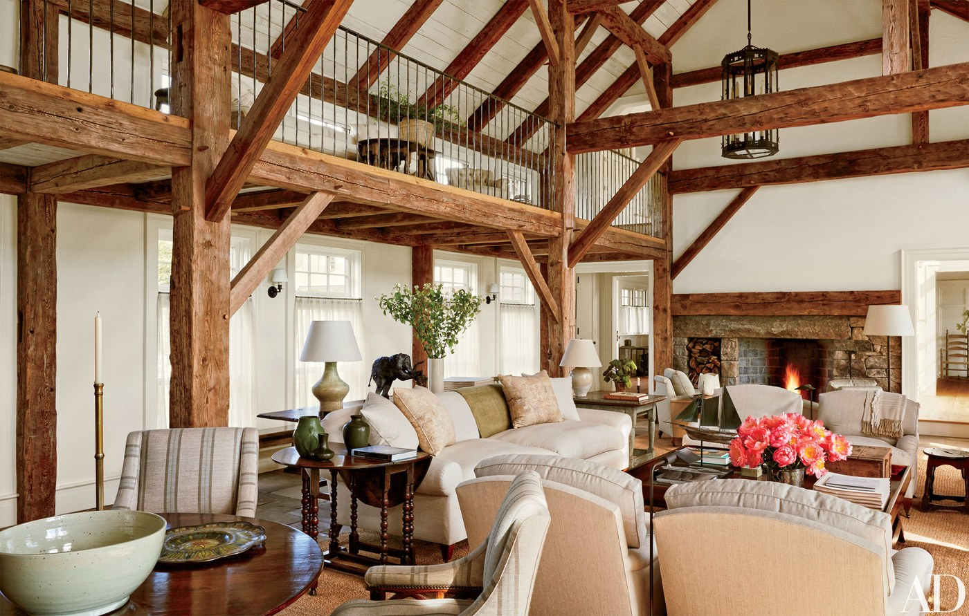 Martha's Vineyard custom timber home