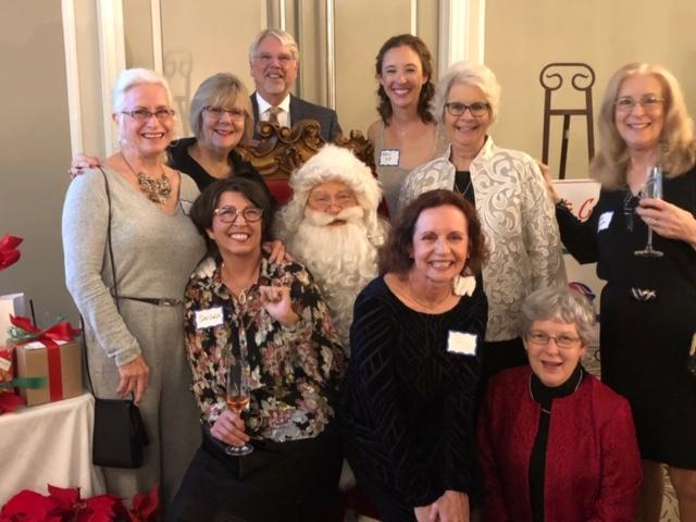 Master Gardeners with Santa