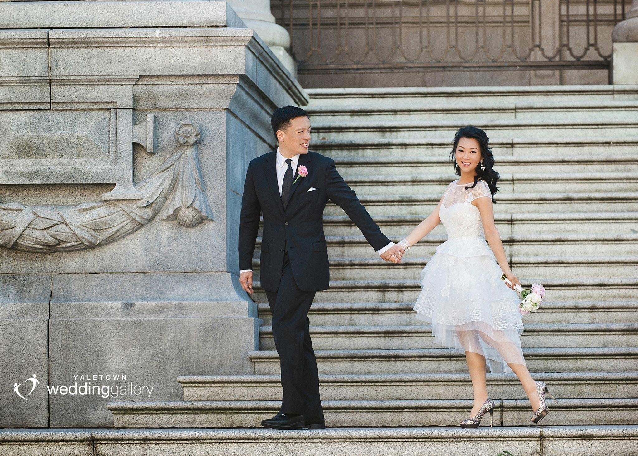 Vancouver Wedding, Yaletown Wedding Photo, Elsa Corsi Wedding Jewelry www.elsacorsi.com