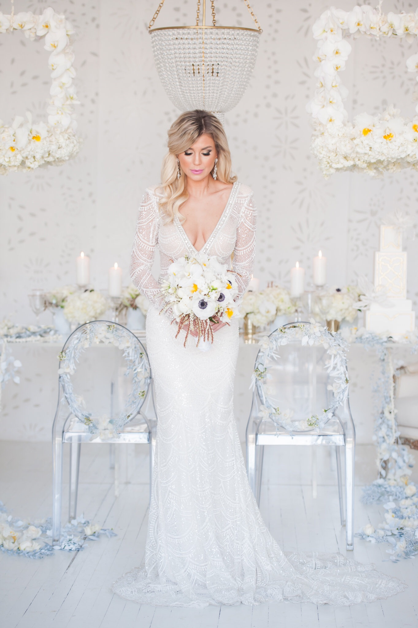 GOWN •  Berta Bridal    from   Blush Bridal