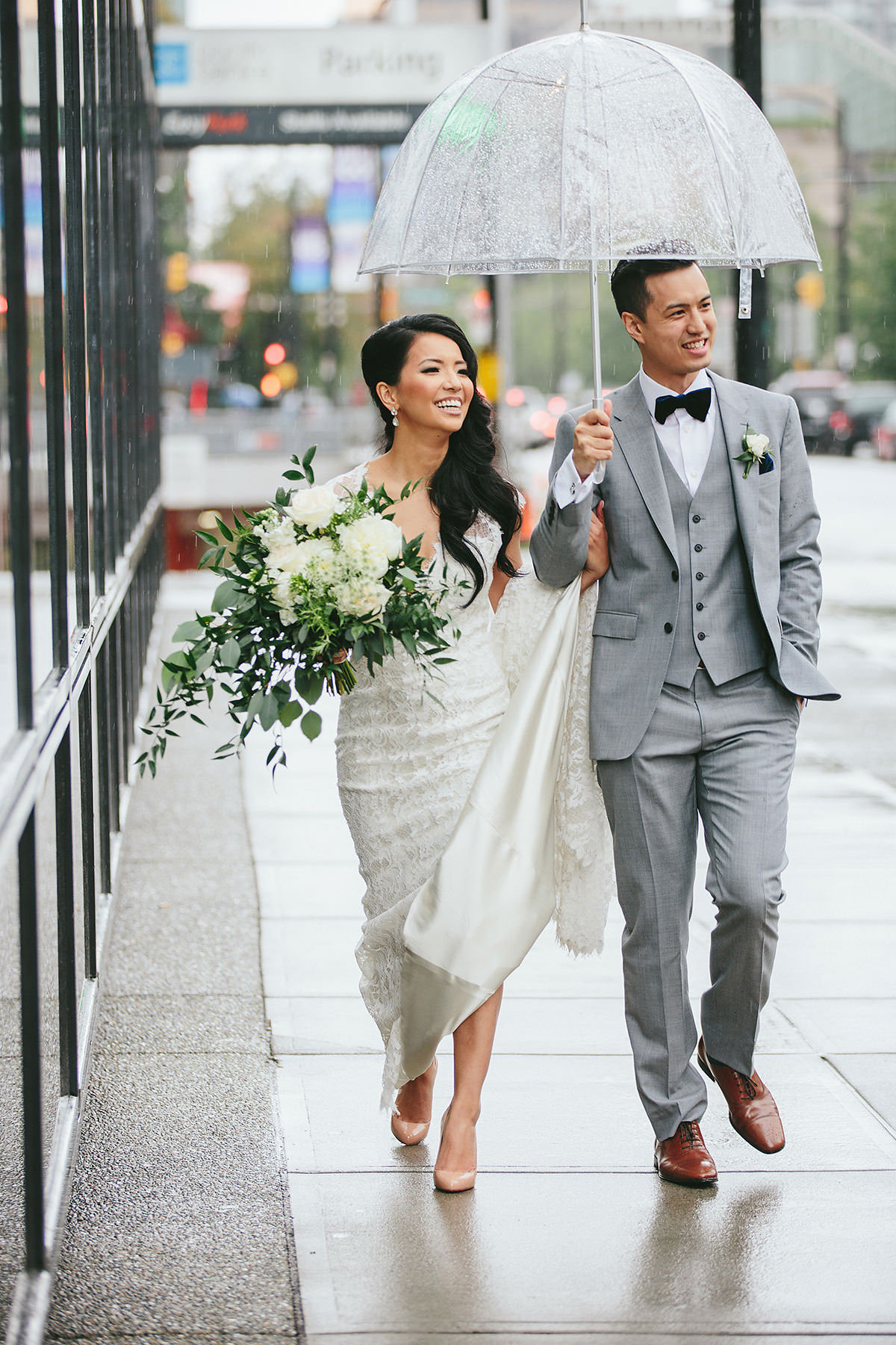 West Coast wedding Featuring Jewelry by Elsa Corsi