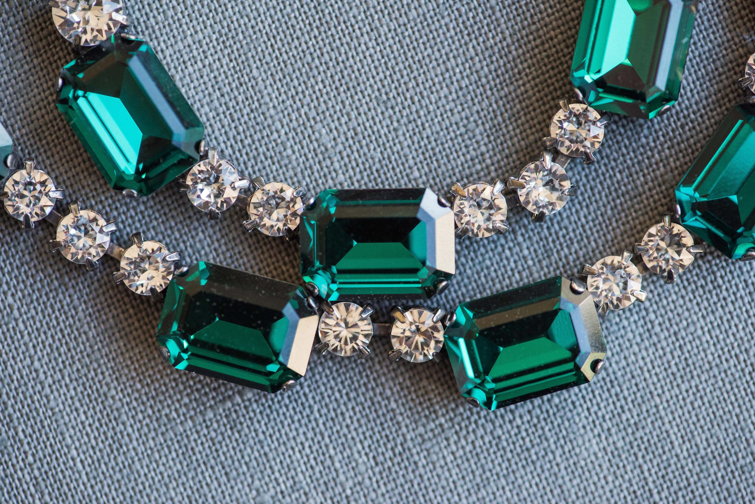 Emerald Green Jewelry by Elsa Corsi www.elsacorsi.com