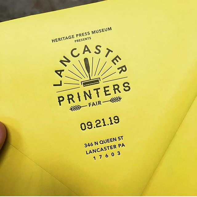 Look out for the 8th annual next Autumn, Sept. 21st was the Annual Lancaster Printers Fair but you can visit the Heritage Press Museum year round! #repost @the.918club  _ #lancasterpa #printing #printersfair #letterpress #thingstodoinlancasterpa #free #history #screenprinting #centralpennsylvania #printmaking #papergoods #918club #heritagepress #museum #design #quilt