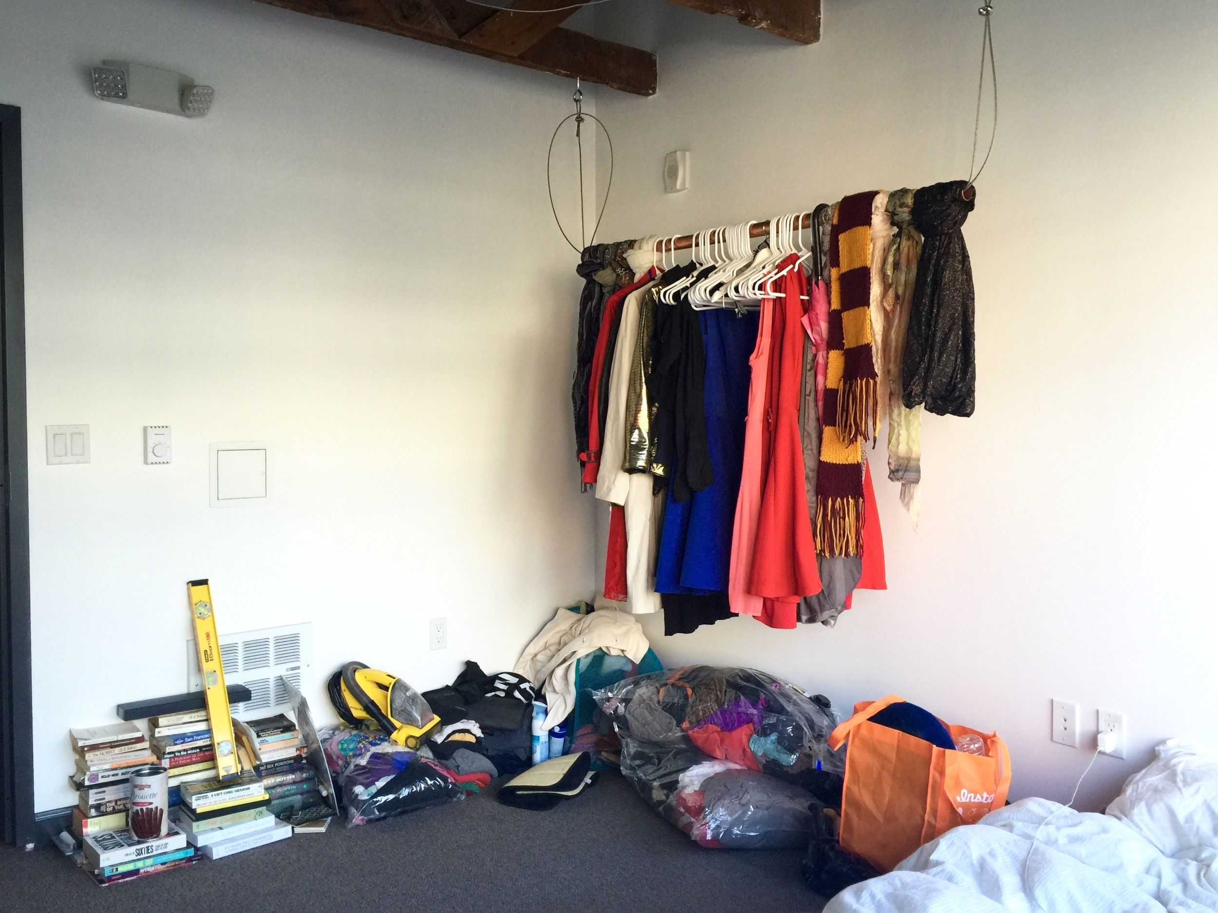 Remaining clutter
