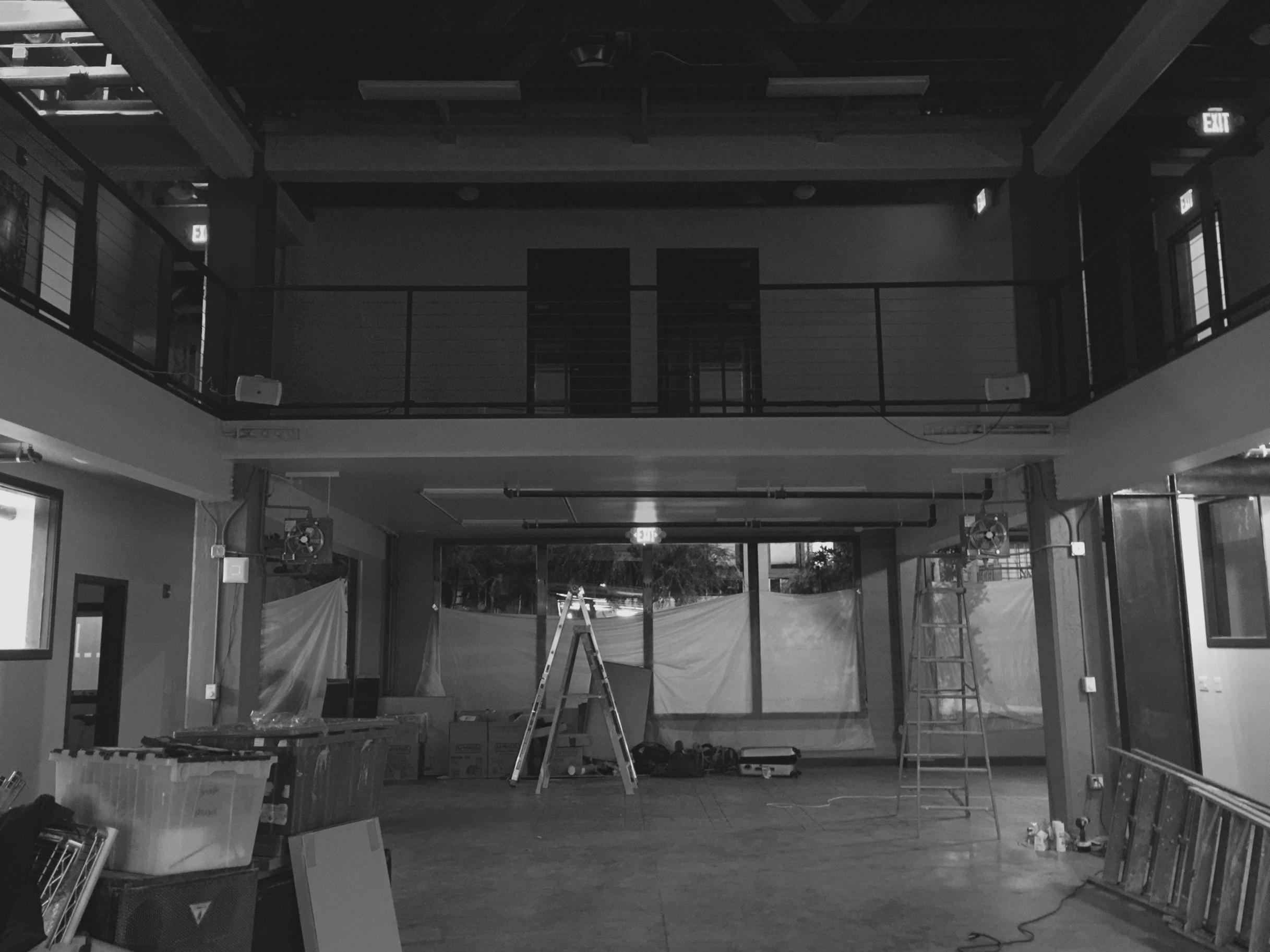 Warehouse in progress