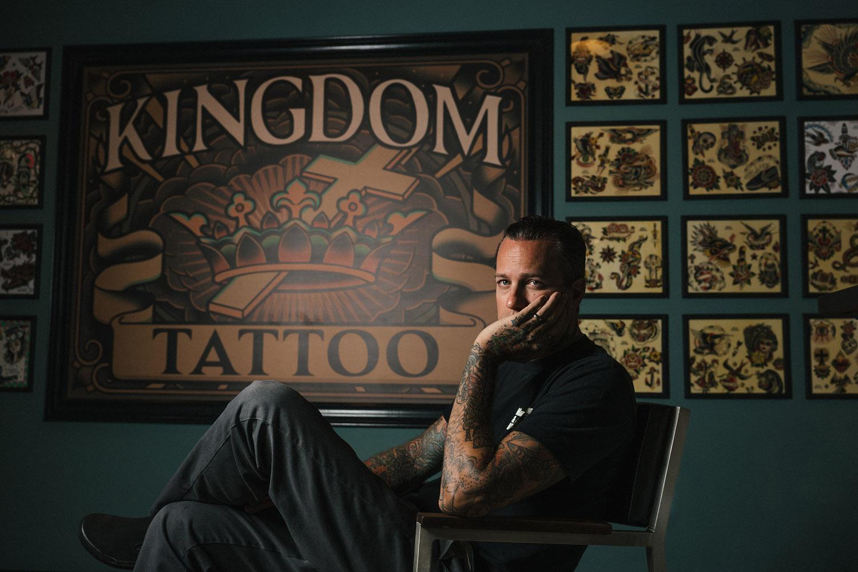 Ryan Weaver Kingdom Tattoo Hales Photo Atlanta