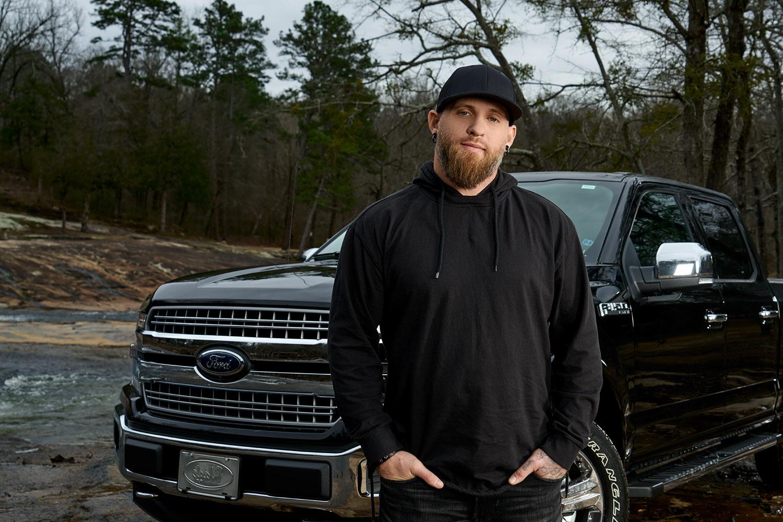 atlanta celebrity photographer ford trucks brantley gilbert