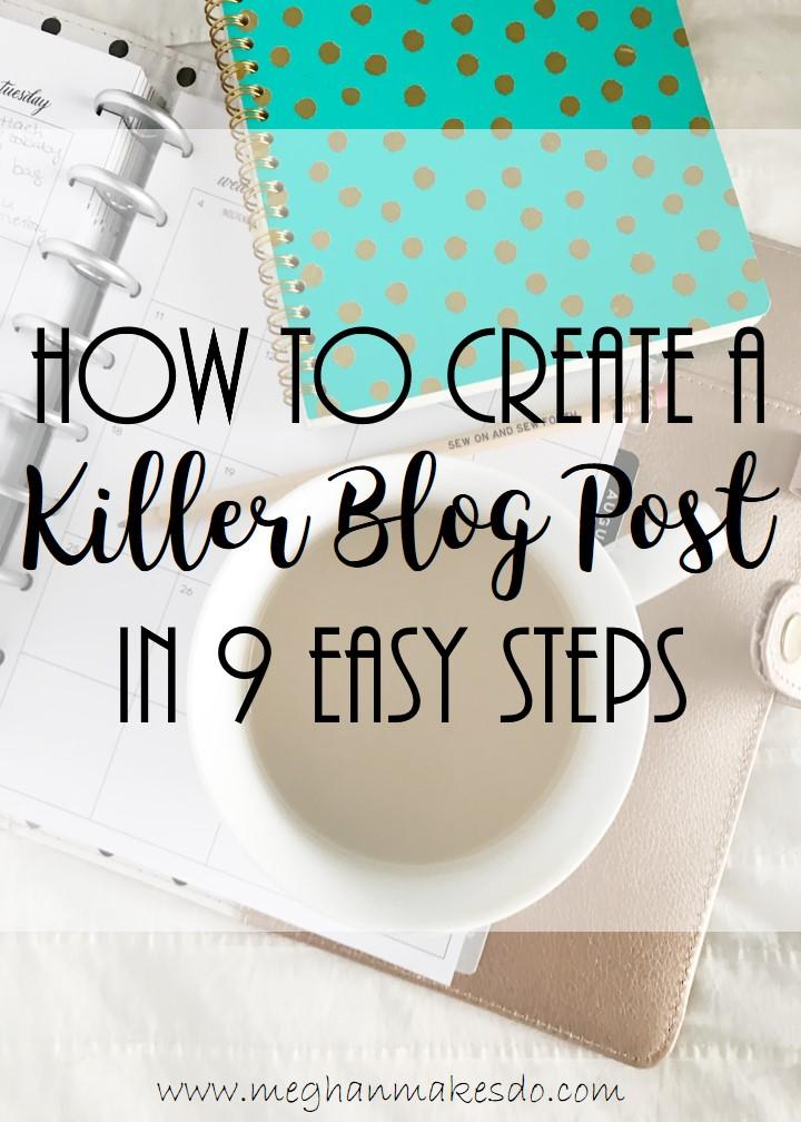 killer blog post