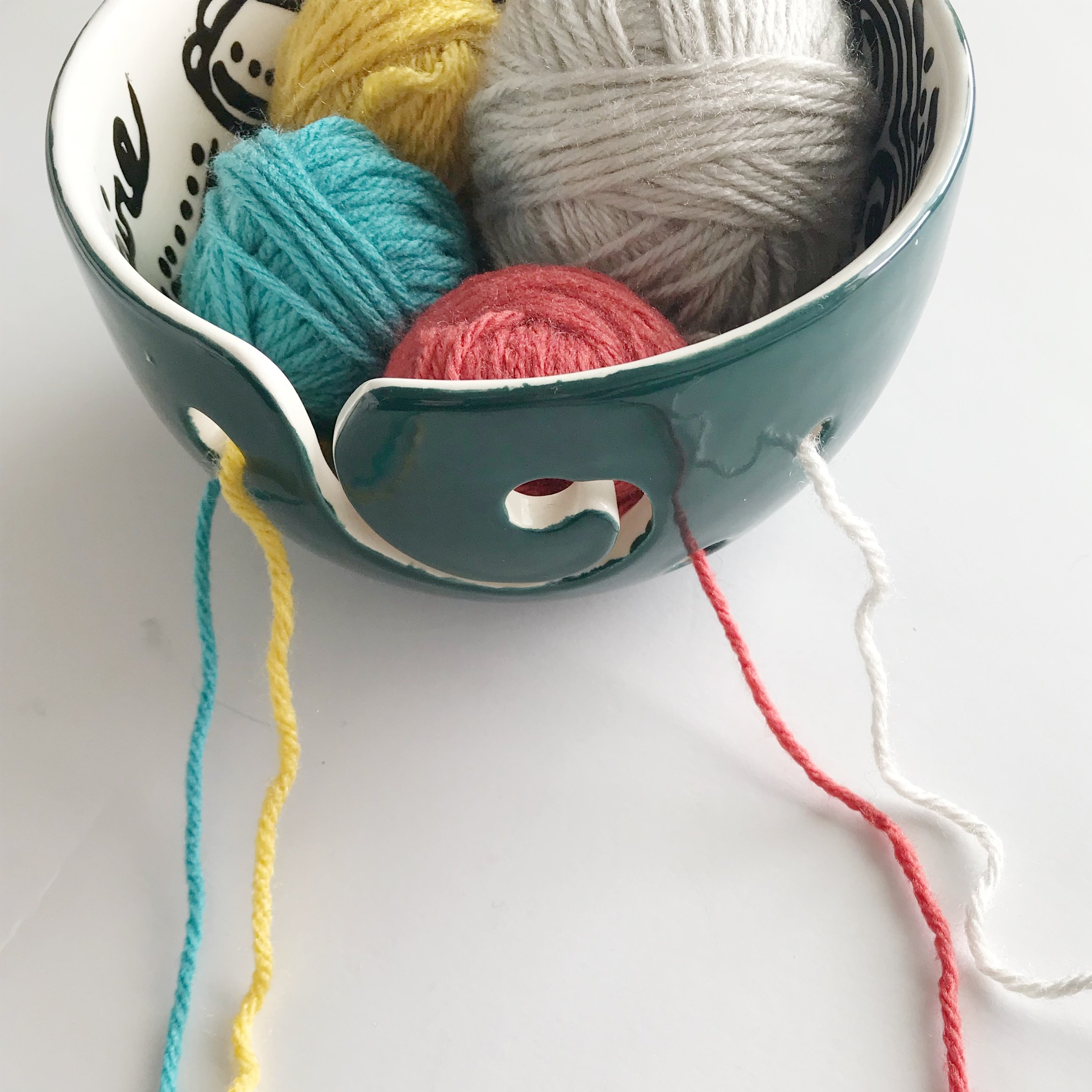 how to keep yarn from tangling