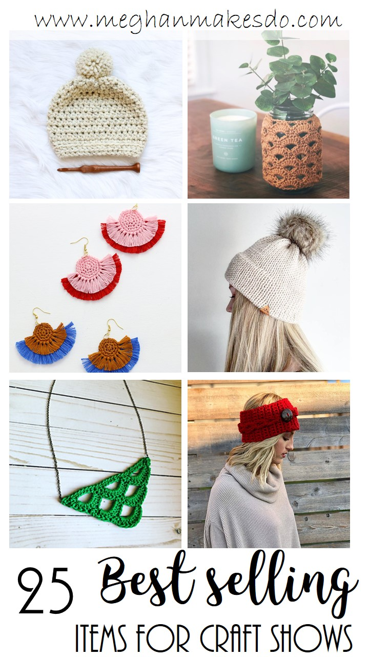 best selling items at craft shows