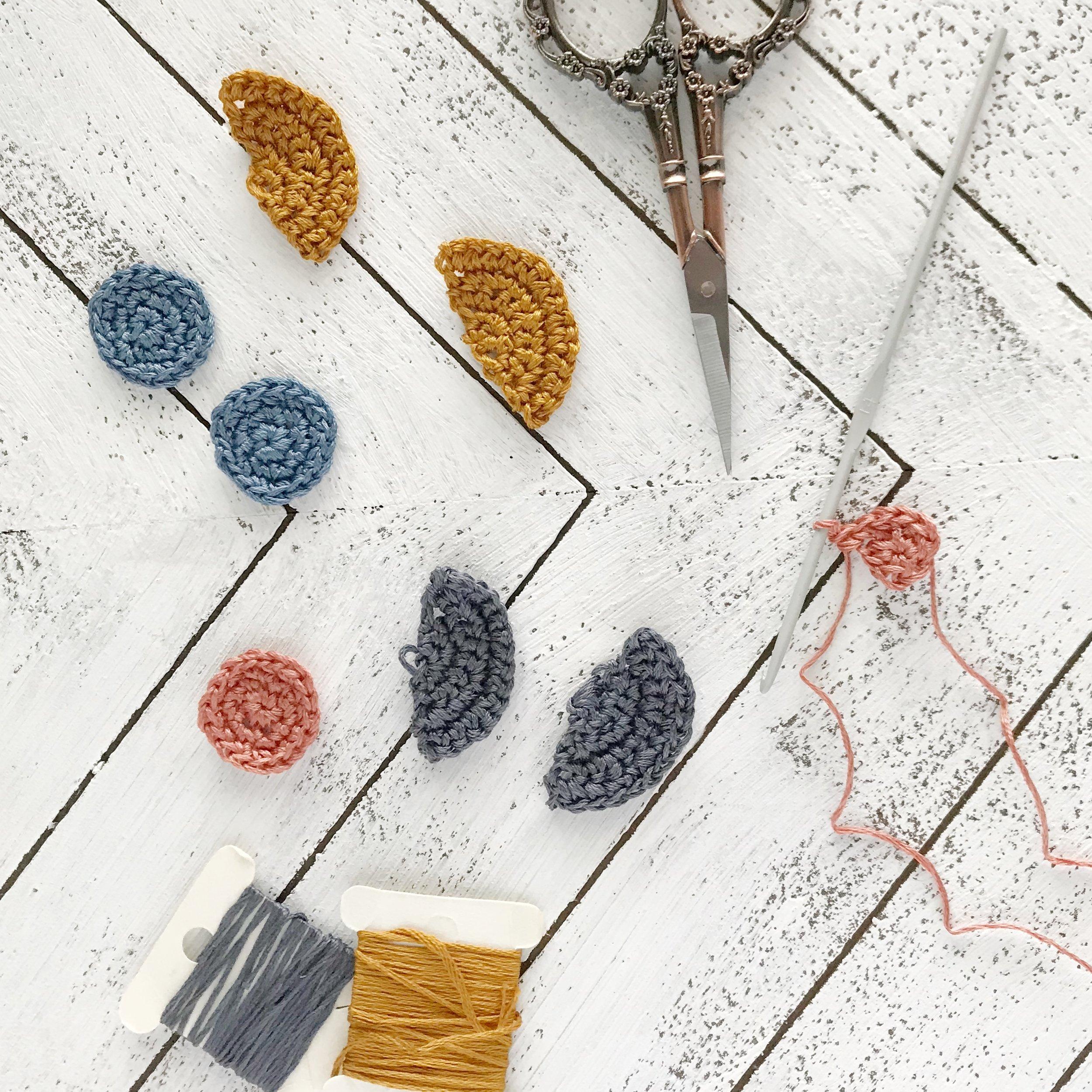 diy crochet earrings
